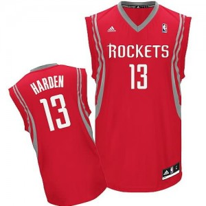 Canotte NBA Rivoluzione 30 Harden Houston Rockets Rosso