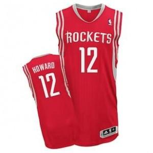 Canotte NBA Rivoluzione 30 Howard Houston Rockets Rosso