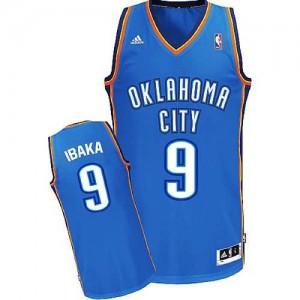 Canotte NBA Rivoluzione 30 Ibaka Oklahoma City Thunder Blu