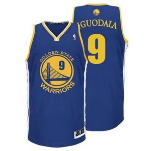 Canotte NBA Rivoluzione 30 Iguodala Golden State Warriors Blu