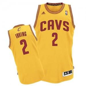 Canotte NBA Rivoluzione 30 Irving Cleveland Cavaliers Giallo