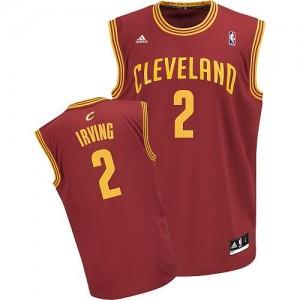 Canotte NBA Rivoluzione 30 Irving Cleveland Cavaliers Rosso