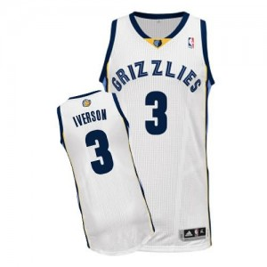 Maglie Basket Iverson Memphis Grizzlies Grizzlies Bianco