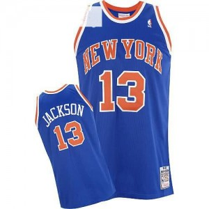 Maglie Basket Jackson New York Knicks Blu