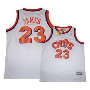 Maglie Basket James Cleveland Cavaliers Bianco