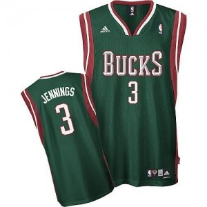Canotte NBA Rivoluzione 30 Jennings Milwaukee Bucks Verde