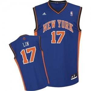 Canotte NBA Rivoluzione 30 Jeremy Lin New York Knicks Blu