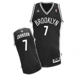 Canotte NBA Rivoluzione 30 Johnson Brooklyn Nets Nero