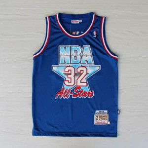 Canotte NBA Jordan All Star 1992 Blu