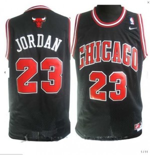 Maglie Basket Jordan Chicago Bulls Nero4