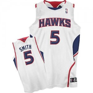 Maglie Basket Josh Smith Atlanta Hawks Bianco