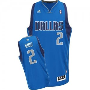 Maglie Basket Kidd Dallas Mavericks Blu