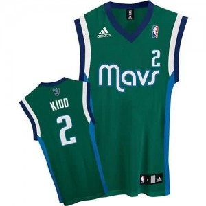 Maglie Basket Kidd Dallas Mavericks Verde
