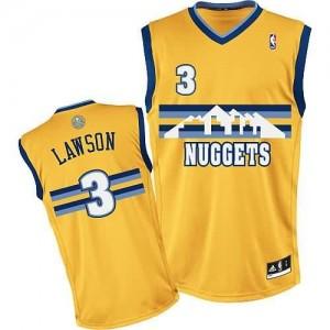 Canotte NBA Rivoluzione 30 Lawson Denver Nuggets Giallo