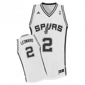 Canotte NBA Rivoluzione 30 Leonaro San Antonio Spurs Bianco