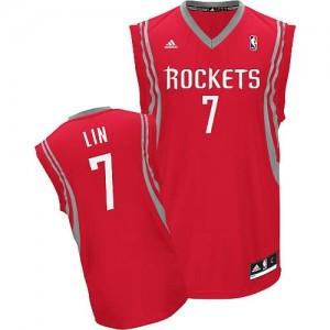 Canotte NBA Rivoluzione 30 Lin Houston Rockets Rosso