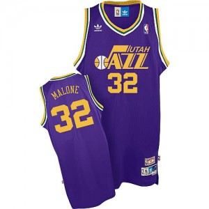 Maglie Basket Malone Utah Jazz Porpora