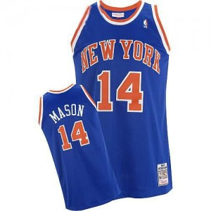 Maglie Basket Mason New York Knicks Blu
