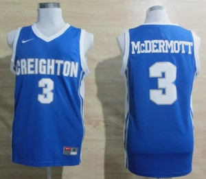 Canotte Basket NCAA McDermott Creighton Blu