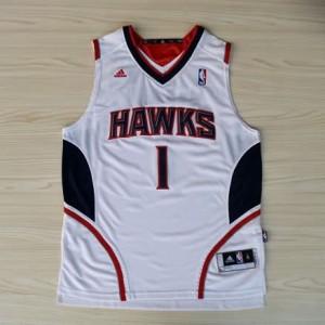 Canotte NBA Rivoluzione 30 McGrady Atlanta Hawks Bianco
