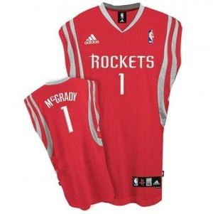 Maglie Basket McGrady Houston Rockets Rosso