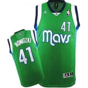 Maglie Basket Nowitzki Dallas Mavericks Verde