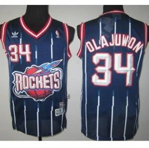 Canotte NBA Rivoluzione 30 Olajuwon Houston Rockets Blu