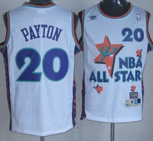 Canotte NBA Payton All Star 1995 Bianco
