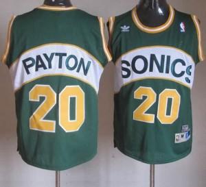 Maglie Basket Payton Seattle Sonics Verde