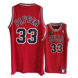 Maglie Basket Pippen Chicago Bulls Rosso