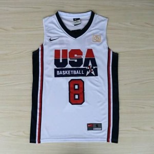 Canotte Pippen USA 1992 Bianco