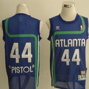 Maglie Basket Pistol Atlanta Hawks Blu