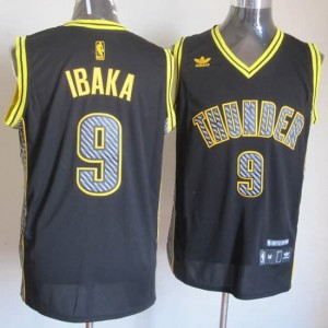 Canotte Basket Relampago Ibaka Nero