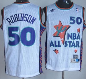 Canotte NBA Robinson All Star 1995 Bianco
