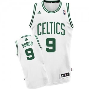 Maglie Basket Rondo Boston Celtics Bianco