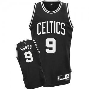 Maglie Basket Rondo Boston Celtics Nero
