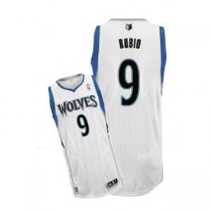 Maglie Basket Rubio Minnesota Timberwolves Bianco