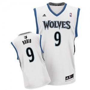 Canotte NBA Rivoluzione 30 Rubio Minnesota Timberwolves Bianco