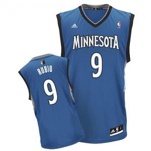 Canotte NBA Rivoluzione 30 Rubio Minnesota Timberwolves Blu