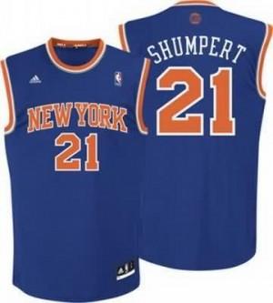 Canotte NBA Rivoluzione 30 Shumpert New York Knicks Blu