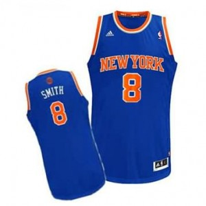 Canotte NBA Rivoluzione 30 Smith New York Knicks Blu
