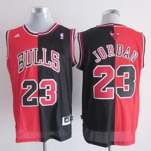 Canotte NBA Split Jordan Rosso Nero