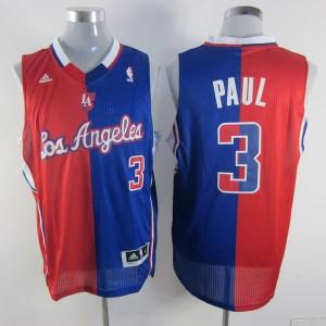 Canotte NBA Split Paul Rosso Blu