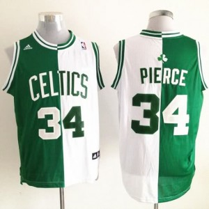Canotte NBA Split Pierce Verde Bianco