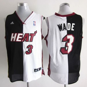 Canotte NBA Split Wade Nero Bianco