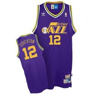 Maglie Basket Stockton Utah Jazz Porpora