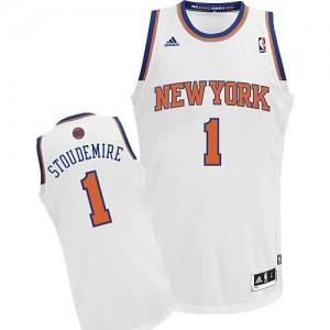 Canotte NBA Rivoluzione 30 Stoudemire New York Knicks Bianco