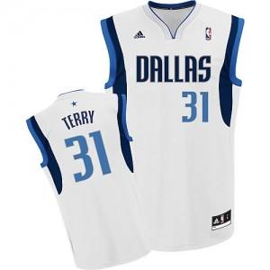 Canotte NBA Rivoluzione 30 Terry Dallas Mavericks Bianco