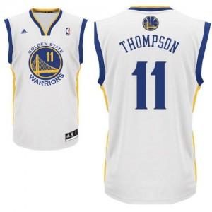 Canotte NBA Rivoluzione 30 Thompson Golden State Warriors Bianco
