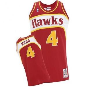 Maglie Basket Webb Atlanta Hawks Rosso